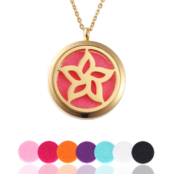 Flower Perfume Locket